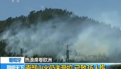 葡萄牙:南部山火仍未受控 已致36人傷