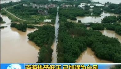 雙臺風影響華東華南