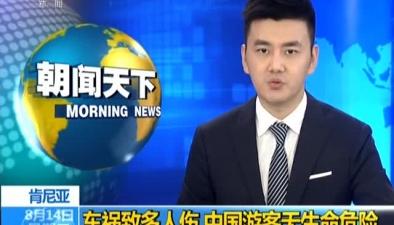 肯尼亞:一輛載有中國遊客大巴發生車禍