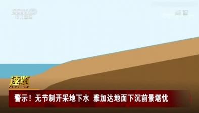 警示!無節制開採地下水 雅加達地面下沉前景堪憂