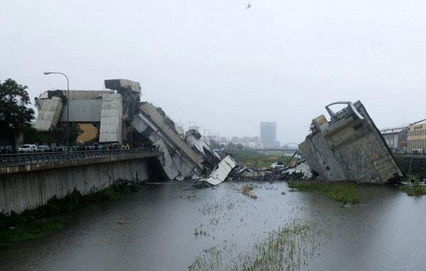 意大利橋梁垮塌事故:仍有10到20人被埋 38人遇難