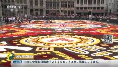 比利時:50萬朵鮮花裝扮布魯塞爾花毯節