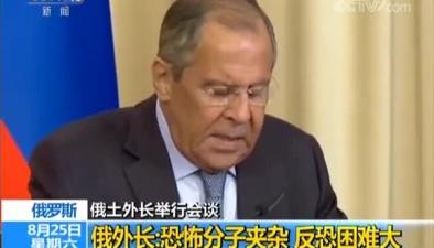 俄土外長舉行會談 兩國外長重點關注伊德利卜局勢