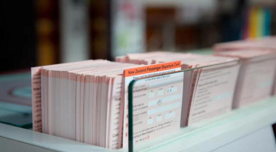 新西蘭將于11月廢除離境卡