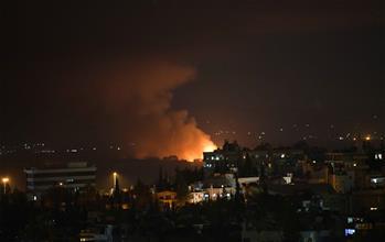 敘首都一軍用機場附近發生連續爆炸