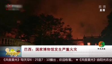 巴西:國家博物館發生嚴重火災