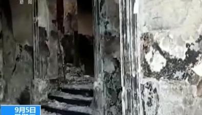 巴西:巴西國家博物館大火大火過後 博物館內畫面公布