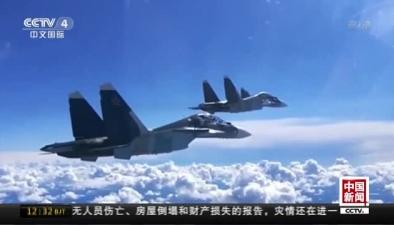 俄羅斯戰機在黑海上空演練