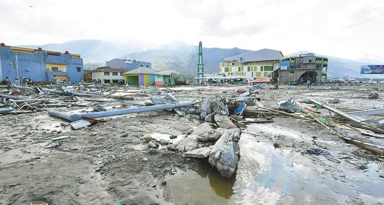 印尼強震引發海嘯:死亡人數升至844人 搜救繼續進行