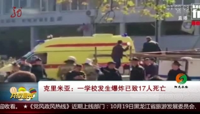 克裏米亞:一學校發生爆炸已致17人死亡