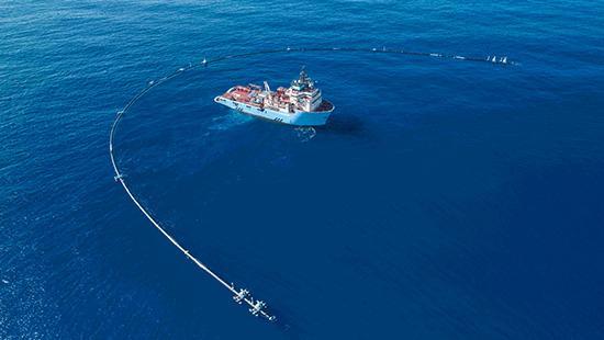 """太平洋""""清污管道"""" 專收集海洋垃圾"""