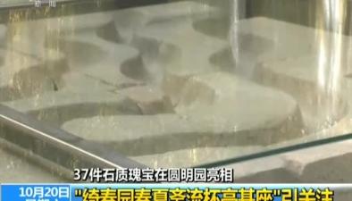 37件石質瑰寶在圓明園亮相