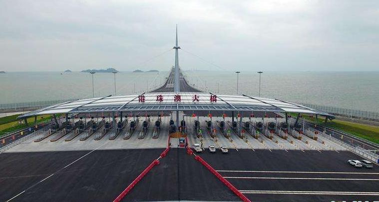 港珠澳大橋開通儀式今天舉行