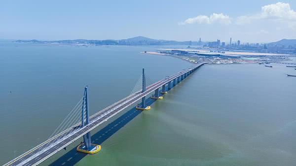 港珠澳大橋今天正式運營:大橋多係統已做好運營準備