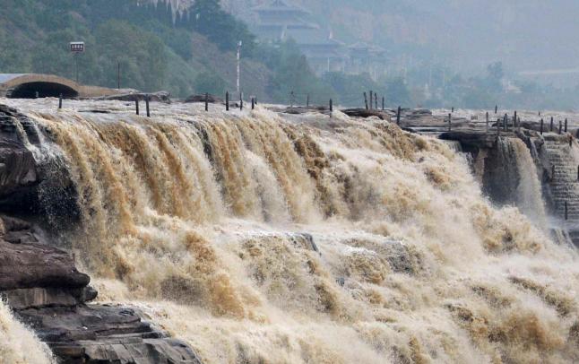 山西:黃河壺口再現壯美瀑布群