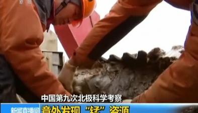 """中國第九次北極科學考察:意外發現""""錳""""資源"""