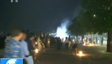 印度:節日燃放煙花 首都空氣污染堪憂