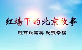 紅墻下的北京故事——被百姓需要我很幸福
