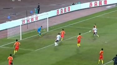 重慶萬州:中國U21男足1:1戰平墨西哥