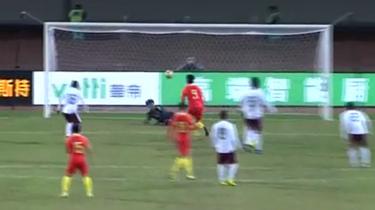 中國U21男子賽場表現