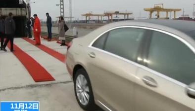 新疆:進口整車首次搭中歐班列入境