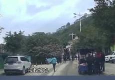 貴州:越野車衝進快餐店