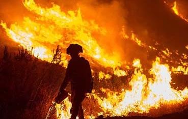 美國:加州山火或在強風作用下蔓延 44人死亡