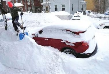 美國:東北部遭遇暴風雪天氣