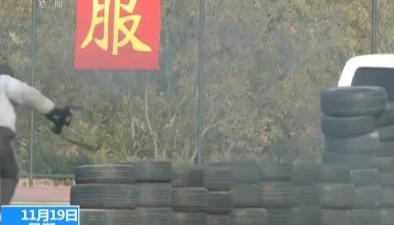 北京:警犬大比武 多科目展開角逐