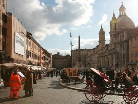 意大利羅馬街頭擬禁隨意吃喝