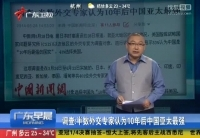 半數外交專家認為10年後中國亞太最強