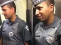 微視世界杯:聖保羅警察地鐵v5執勤,不忘學勒夫摳摳