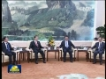 習近平會見韓國新國家黨黨首