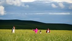 草原美景如畫
