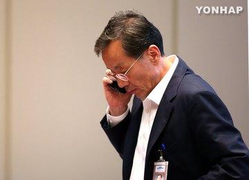 """韓國青瓦臺民政首席秘書官金英漢""""抗命辭職"""""""