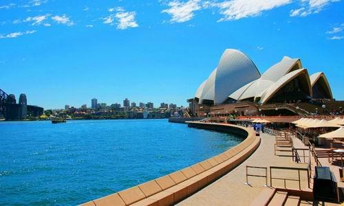 图为澳大利亚悉尼景色.来源:澳洲网.
