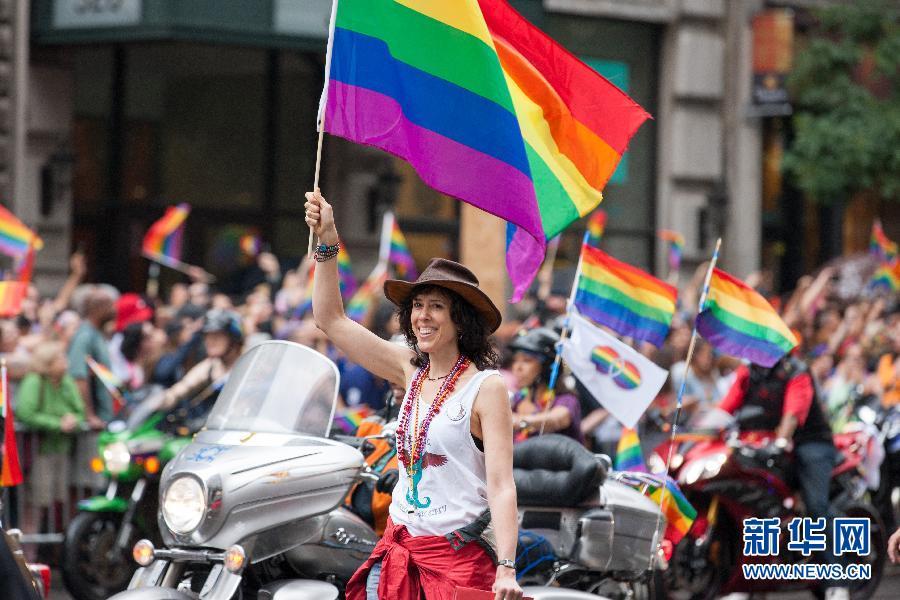 (XHDW)(2)紐約舉行同性戀大遊行