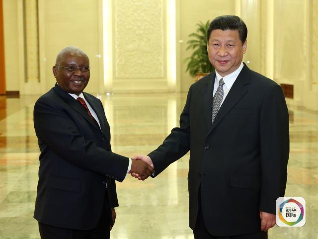 习主席和非洲国家领导人图片
