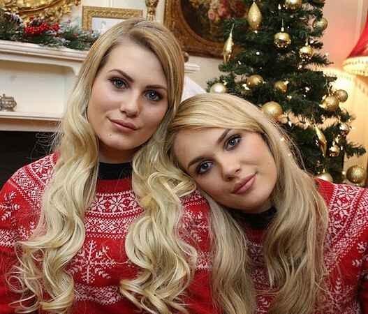 女子网上找到幽灵姐妹 容貌居然一模一样 组图