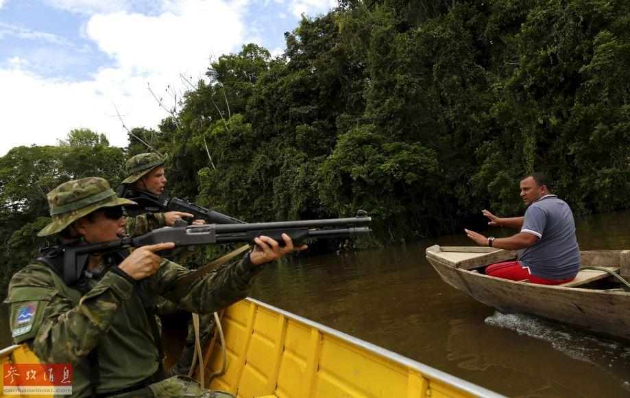不择手段 亚马逊热带雨林腹地的淘金者 图
