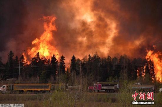 5月6日音耗,加以拿父亲北边部艾伯塔节石油重镇麦克默里堡己1日宗受林火掩杀,火势3日迅快蔓延。4日,应急机关命令此雕刻座城市的10万市民整顿个撤退。