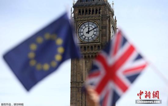 當地時間6月23日,英國舉行脫歐公投。根據BBC統計結果,截至投票結束,有約1741萬選民支持脫歐,1614萬選民支持留歐,脫歐陣營領先127萬選票,英國脫歐成定局。(資料圖)