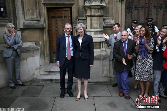 特蕾莎·梅將就任英首相如何處理脫歐問題引關注