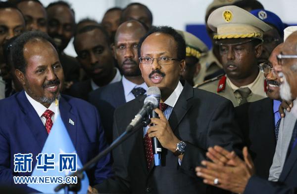索马里新任总统穆罕默德・阿卜杜拉希・穆罕默德