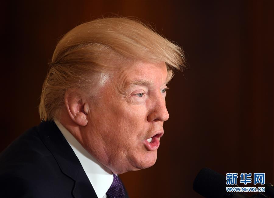 """(國際)(2)特朗普説美國政府不會將中國列為""""匯率操縱國"""""""