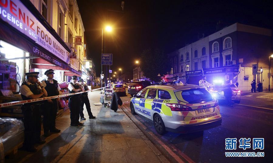 (國際)(1)英國倫敦一輛車衝入人群造成多人受傷