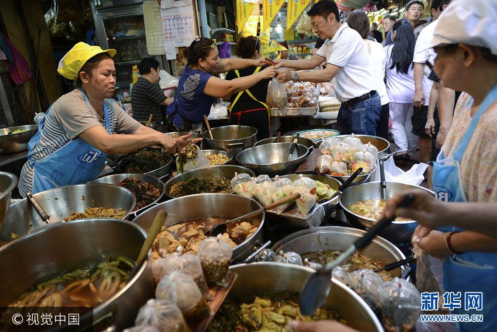 泰國華人素食節:禁酒禁肉 虔誠祈福