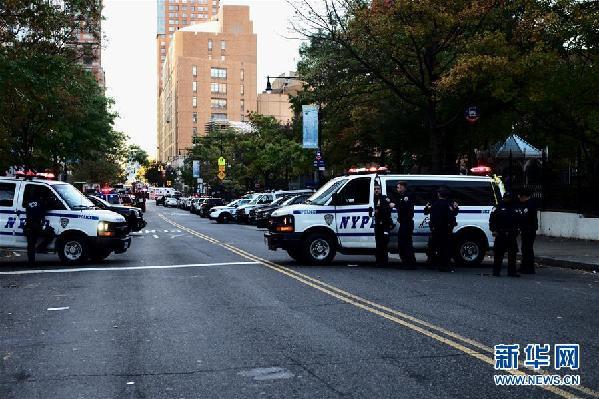 (國際)(1)紐約曼哈頓發生卡車撞人恐怖襲擊事件8人死亡