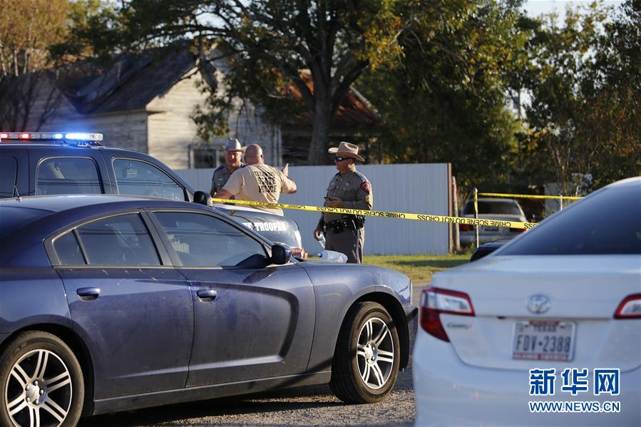 (國際)(1)美國得州教堂槍擊事件造成至少27人死亡