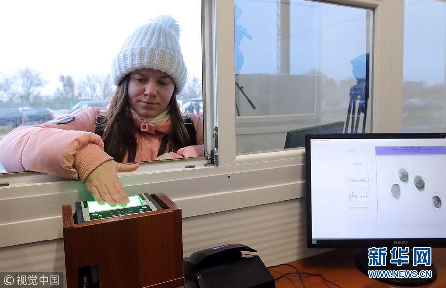 俄罗斯公民入镜乌克兰时须进行指纹识别   将于1月1日大规模运用
